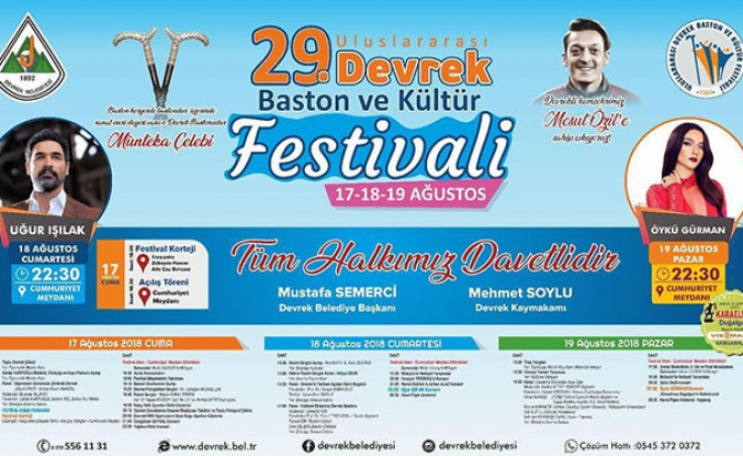 Festival başlıyor! İşte program