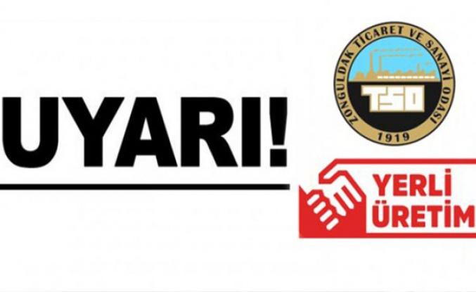 Üretim yeri Türkiye olan mallar için UYARI!