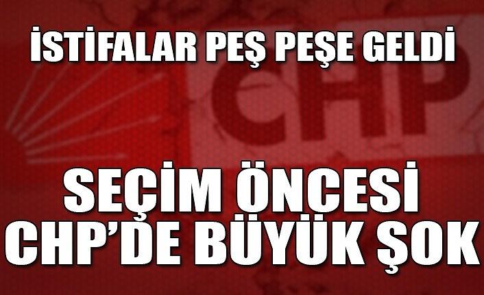 İstifalar peş peşe geldi... Seçim öncesi CHP'de büyük şok...