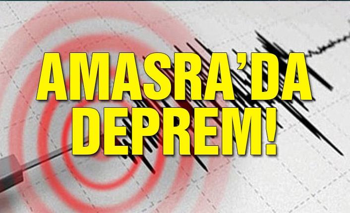 Amasra'da deprem!