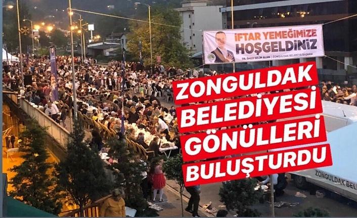 Zonguldak Belediyesi'nden 3 bin kişiye iftar