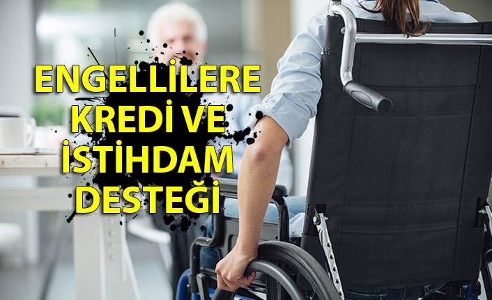 Engellilere kredi ve istihdam desteği
