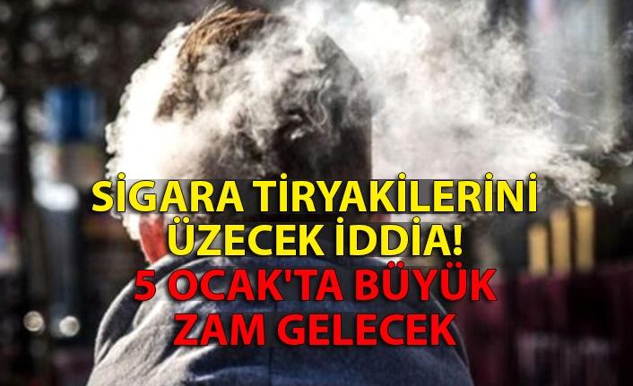 Sigara tiryakilerini üzecek iddia: 5 Ocak'ta büyük zam gelecek