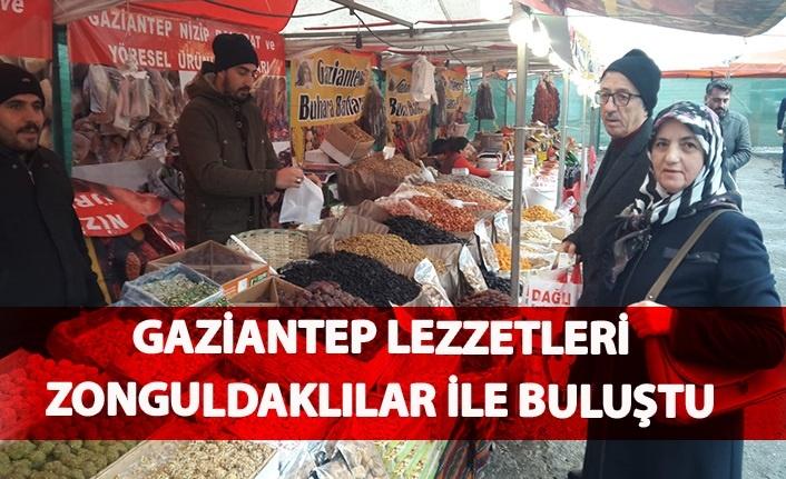 Gaziantep lezzetleri Zonguldaklılar ile buluştu