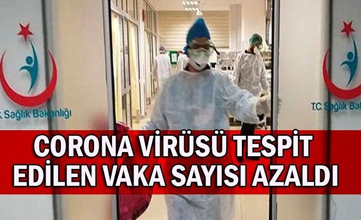 Corona virüsü tespit edilen vaka sayısı azaldı