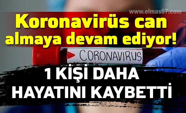 Koronavirüs can almaya devam ediyor!  1 kişi daha hayatını kaybetti
