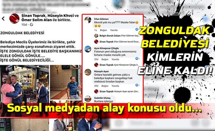 Sosyal medyadan alay konusu oldu... Zonguldak Belediyesi kimlerin eline kaldı!
