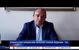 13 Mart 2019 Günün Manşetleri Zonguldak Havaalanı Müdürü Hasan ÖZŞAHİN