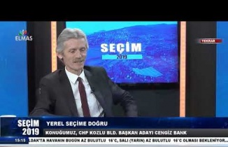 19 Mart 2019 Seçim 2019 Cengiz Bank