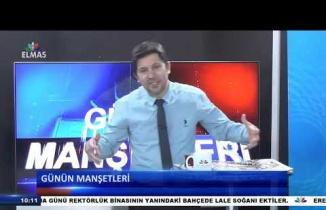 2 Ocak 2019 Elmas TV Günün Manşetleri Programı