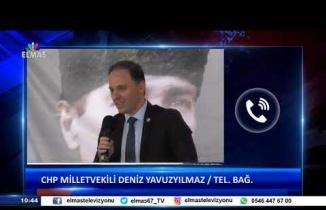 25 Mart 2019 Günün Manşetleri CHP Milletvekili Deniz Yavuzyılmaz Tel.Bağ.