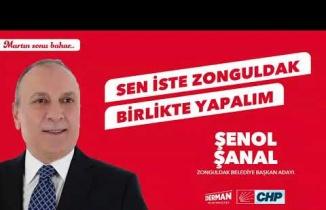 CHP Zonguldak Belediye Başkan Adayı Şenol Şanal'ın projeleri...