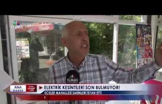 Eceler Köyü'nde Elektrik Kesintisi