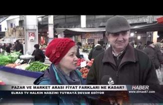 Elmas TV halkın nabzını tutmaya devam ediyor...