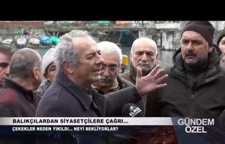 Gündem Özel Elmas TV Çekekler Balıkçılar Röportaj