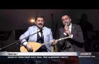 Suat Ünal'ın albüm tanıtımına ünlü yağmuru