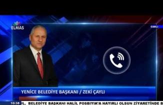 Yenice Belediye Başkanı Zeki Çaylı Telefon Bağlantısı