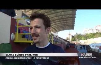 Zonguldak Kömürspor - Fethiyespor maç sonu yaşananlar...