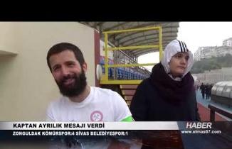 Zonguldakspor'da Deprem! Kaptan ayrılıyor! Maç sonu yaşananlar..